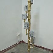 Для дома и интерьера ручной работы. Ярмарка Мастеров - ручная работа Торшер из труб. Handmade.