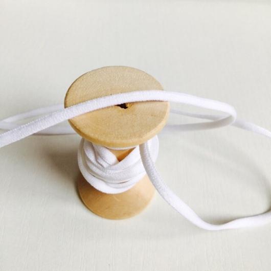 Шитье ручной работы. Ярмарка Мастеров - ручная работа. Купить БЕЛАЯ 3 мм  Лента эластичная. Handmade. Лента эластичная