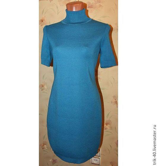 """Платья ручной работы. Ярмарка Мастеров - ручная работа. Купить Платье""""Кокетка"""". Handmade. Морская волна, красивое платье, миниплатье"""