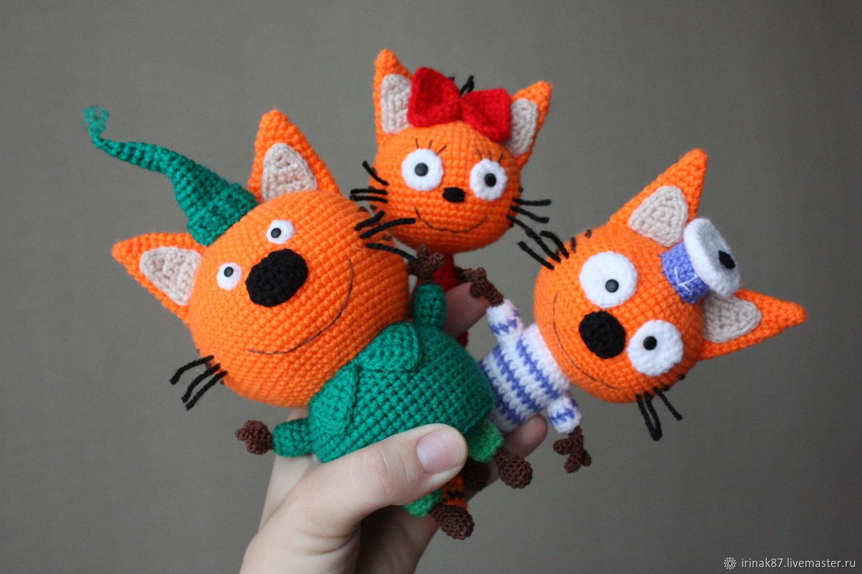 Три кота Карамелька Коржик Компот из мультика – купить в ...