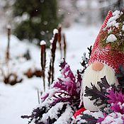 Для дома и интерьера ручной работы. Ярмарка Мастеров - ручная работа Гном «Рождественский Красный». Handmade.