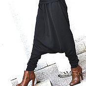 Одежда handmade. Livemaster - original item Extravagant pants made of cotton - PA0799PM. Handmade.