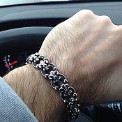 Украшения handmade. Livemaster - original item Bracelet with Royal Lilies from Jewelry Steel. Handmade.