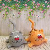 Косметика ручной работы handmade. Livemaster - original item Soap cat striped. Handmade.