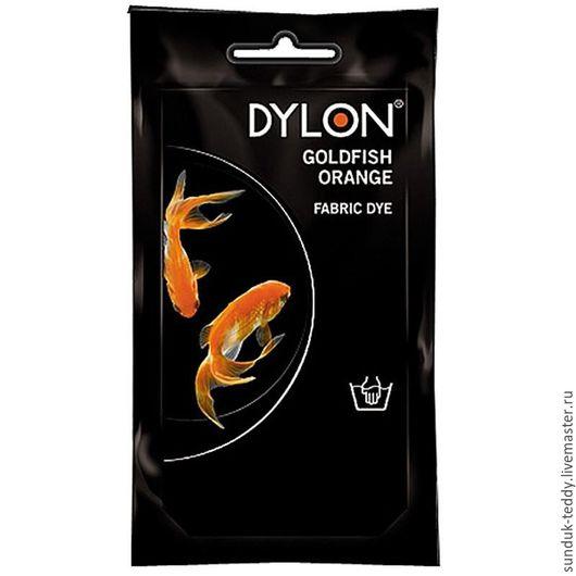 Куклы и игрушки ручной работы. Ярмарка Мастеров - ручная работа. Купить Hand Dye 55  - Краситель DYLON Оранжевый (goldfish orange). Handmade.