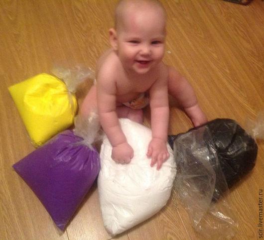 Куклы и игрушки ручной работы. Ярмарка Мастеров - ручная работа. Купить Бархатный пластик 1 кг (бархатная глина). Handmade.