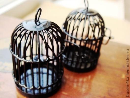 Для украшений ручной работы. Ярмарка Мастеров - ручная работа. Купить Подвеска Клетка черная (1шт). Handmade. Подвеска, клетка