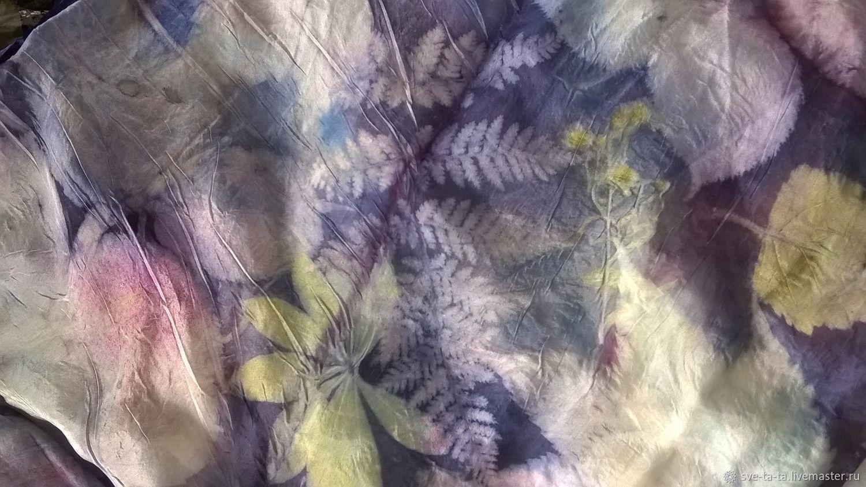 Шали, палантины ручной работы. Ярмарка Мастеров - ручная работа. Купить Шелковый шарф, шелковый палантин, натуральный шелк Конец Лета. Handmade.