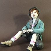 Куклы и игрушки handmade. Livemaster - original item Dream of football. Handmade.