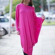 Одежда handmade. Livemaster - original item Long dress Fuchsia. Handmade.
