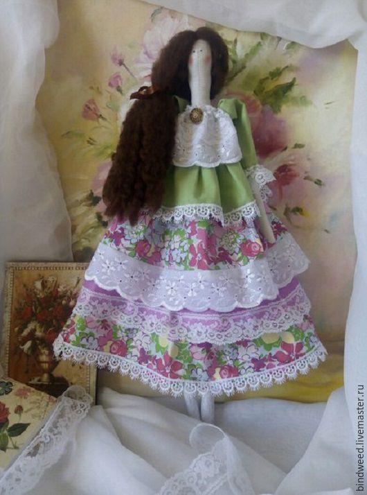 """Куклы Тильды ручной работы. Ярмарка Мастеров - ручная работа. Купить Тильда """"Ванесса"""". Handmade. Комбинированный, тильда, кукла интерьерная"""