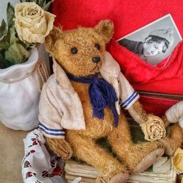 Куклы и игрушки ручной работы. Ярмарка Мастеров - ручная работа Старый моряк. Handmade.