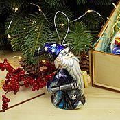 Сувениры и подарки handmade. Livemaster - original item Christmas tree toy Christmas porcelain Christmas tree toy Stargazer magician. Handmade.