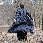 Одежда ручной работы. Ярмарка Мастеров - ручная работа Плащ Крылья ночи. Handmade.