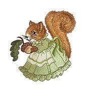 Работы для детей, handmade. Livemaster - original item Newborn gift: Pouch with embroidery