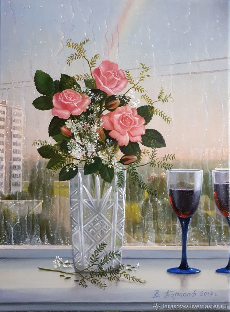 Evening after the thunderstorm (Vladimir Tarasov), Pictures, Moscow,  Фото №1