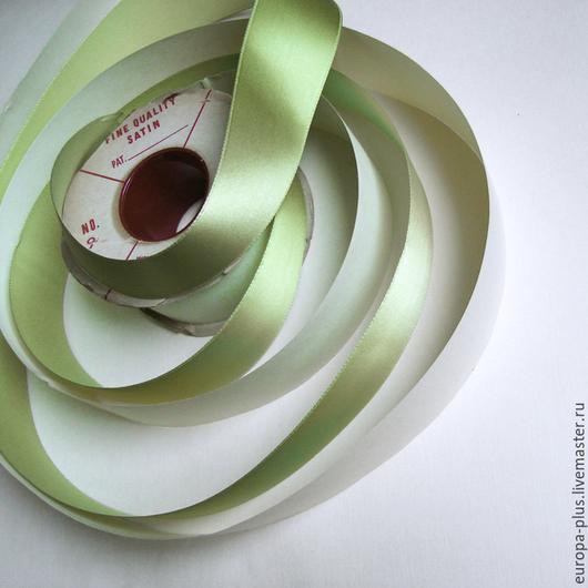 Винтажные предметы интерьера. Ярмарка Мастеров - ручная работа. Купить Антикварная лента - Салатовая. Handmade. Салатовый, лента декоративная, винтаж