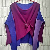 Одежда handmade. Livemaster - original item Kn_003_skor Blouson 3-color. Handmade.