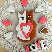 Свадебный салон ручной работы. Ярмарка Мастеров - ручная работа Пряники свадебные неразлучники, подарок на свадьбу. Handmade.