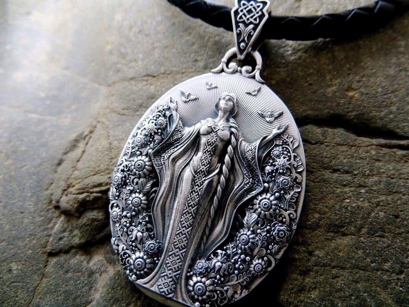 амулеты картинки серебро изготовления