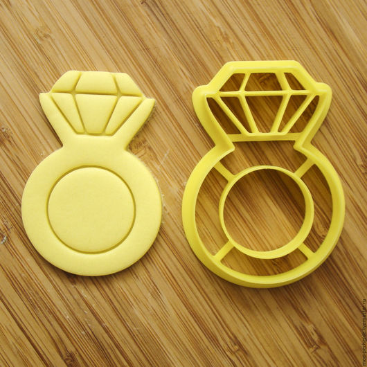 Кольцо. Вырубка-штамп для пряников, печенья, мастики, поделок из соленого теста.
