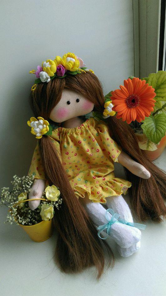 Коллекционные куклы ручной работы. Ярмарка Мастеров - ручная работа. Купить Куколка - малышка. Handmade. Кукла, интерьерная кукла, радость