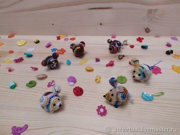 Маленькие мышки, Мягкие игрушки, Челябинск,  Фото №1