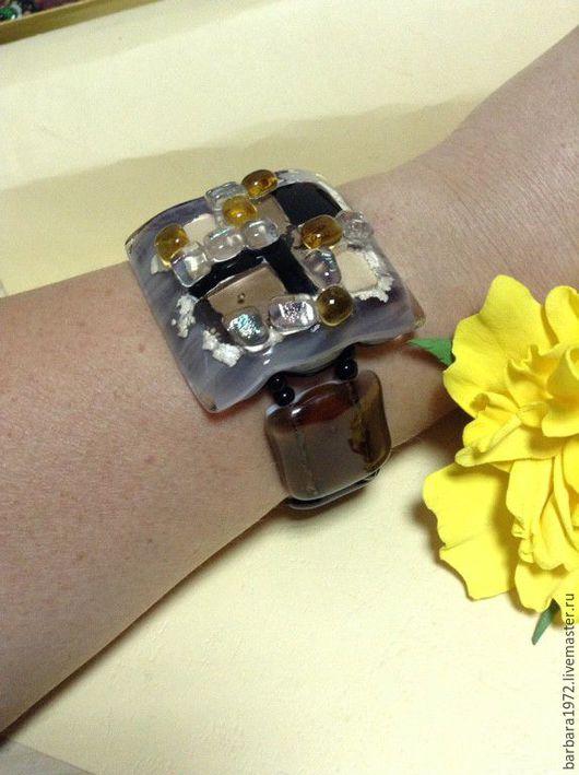 """Браслеты ручной работы. Ярмарка Мастеров - ручная работа. Купить браслет """"стиль"""". Handmade. Комбинированный, фьюзинг украшения, ручные украшения"""