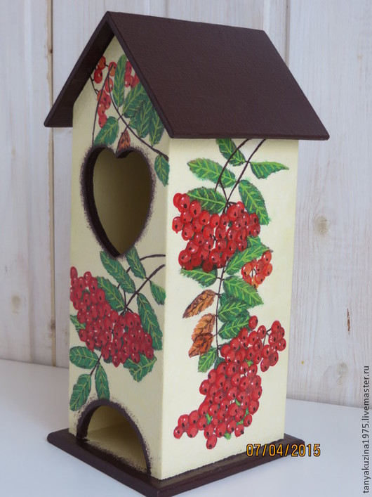 """Кухня ручной работы. Ярмарка Мастеров - ручная работа. Купить Чайный домик """"Осенний"""". Handmade. Разноцветный, подарки ручной работы"""
