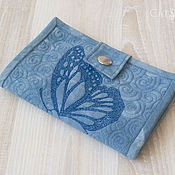 Сумки и аксессуары handmade. Livemaster - original item A purse of Butterfly blue. Handmade.