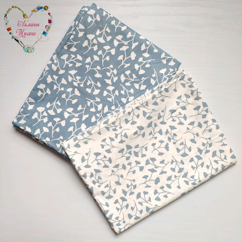 Fabric Satin Cotton China Peonies Monogram, Fabric, Moscow,  Фото №1