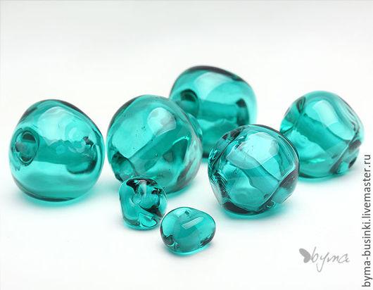 Бусины стеклянные лэмпворк для украшений купить
