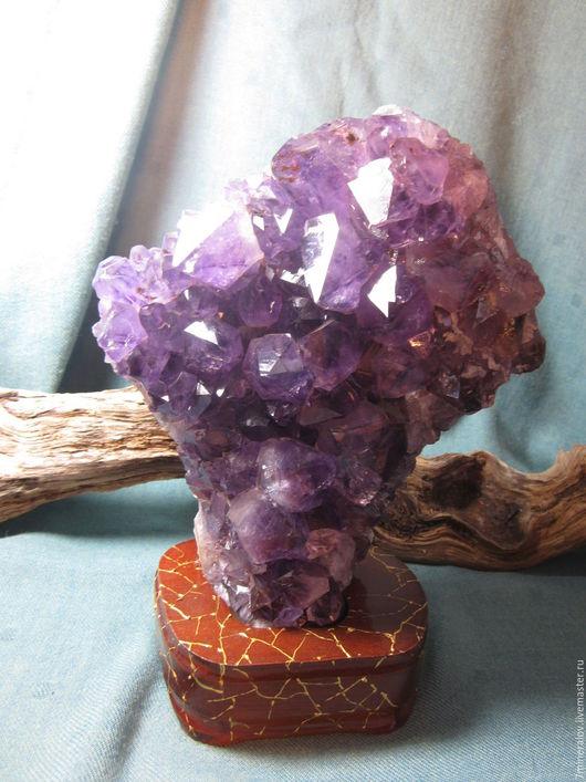 Персональные подарки ручной работы. Ярмарка Мастеров - ручная работа. Купить 2.049кг.  Друза Аметист - природный камень - минерал. Handmade.
