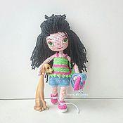 Куклы и игрушки ручной работы. Ярмарка Мастеров - ручная работа Вязаная кукла Женька. Handmade.