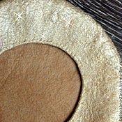 Аксессуары ручной работы. Ярмарка Мастеров - ручная работа Золотой песок-идеальный весенний беретик. Handmade.