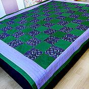 Для дома и интерьера ручной работы. Ярмарка Мастеров - ручная работа Стеганное одеяло. Handmade.