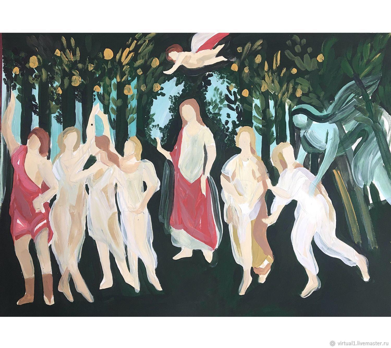 боттичелли весна картина в высоком качестве переместите человечка любое