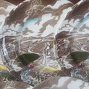 АНГЛИЯ фарфоровые тарелки 5 штук STAFFORDSHIRE