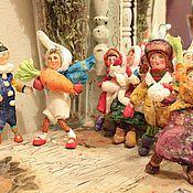 """Куклы и игрушки ручной работы. Ярмарка Мастеров - ручная работа Продана. серия """" Советские ребята"""" винтажный стиль). Handmade."""