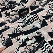 Ткани ручной работы. Ярмарка Мастеров - ручная работа Ткани: оригинальный шёлк Chanel. Handmade.