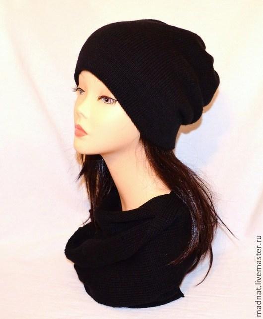 """Шапки ручной работы. Ярмарка Мастеров - ручная работа. Купить """"Urban Style"""" шапка-колпак (двойная, модель унисекс). Handmade."""