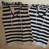 Винтаж handmade. Livemaster - original item Vintage clothing: Top shirt from the French brand Yuka with lurex. Handmade.