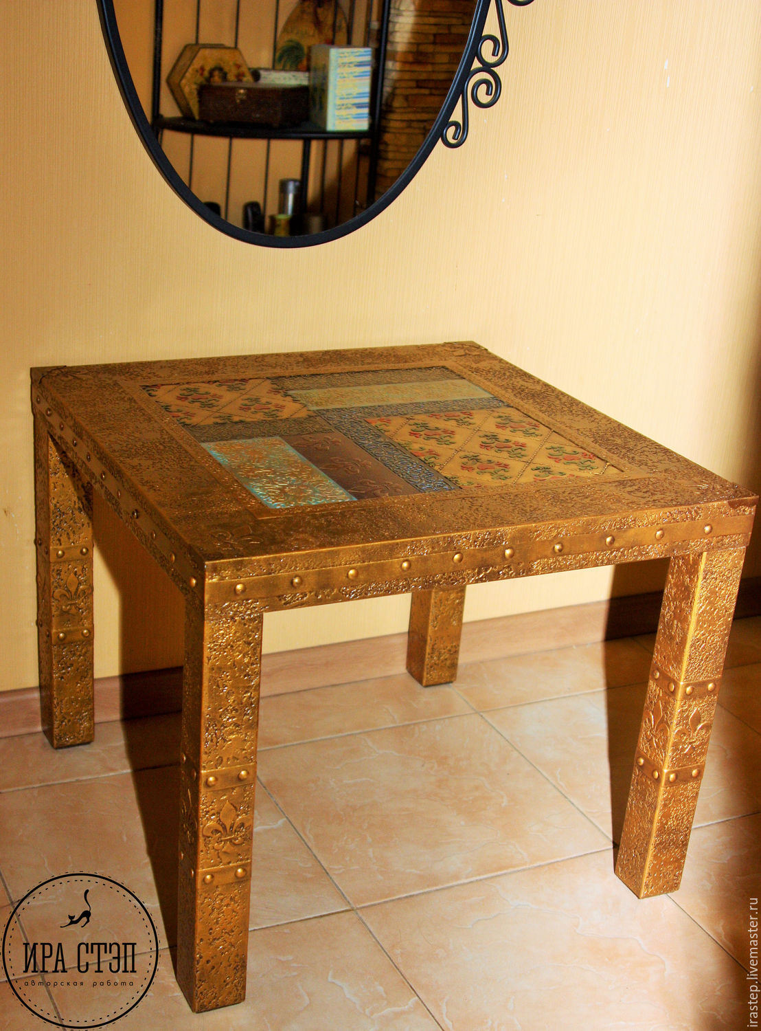 Coffee table 'Gold', Tables, Rostov-on-Don,  Фото №1