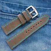 Украшения handmade. Livemaster - original item Watch straps, handmade leather. Handmade.