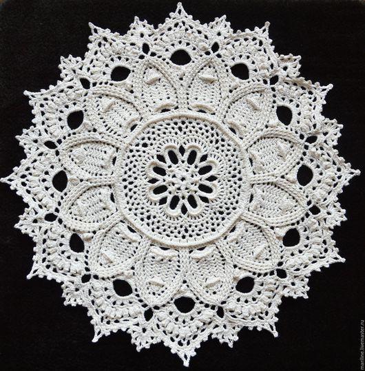 """Текстиль, ковры ручной работы. Ярмарка Мастеров - ручная работа. Купить Салфетка """"Debbie"""". Handmade. Бежевый, красивая салфетка"""