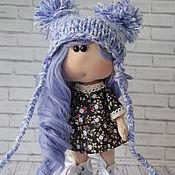 Тыквоголовка ручной работы. Ярмарка Мастеров - ручная работа Интерьерная кукла. Кукла ручной работы. Handmade.