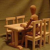 Куклы и игрушки ручной работы. Ярмарка Мастеров - ручная работа обеденная зона 2. Handmade.