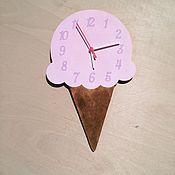 Для дома и интерьера ручной работы. Ярмарка Мастеров - ручная работа Часы Мороженое. Handmade.