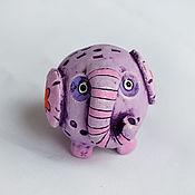 Модели ручной работы. Ярмарка Мастеров - ручная работа Слон керамический Лило. Сувенир слона, слон керамика. Handmade.