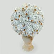 handmade. Livemaster - original item Moonstone flowers